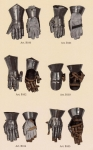 Armours - Medieval Body Armour - Gauntlet with articulated fingers - Gauntlet with separate and articulated fingers and wrist protection,