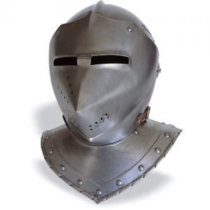 Helmet Armor, Armours - Medieval Helmets - Helmet to the German armor, used in the first decades of the sixteenth century as a leader in armor protection, file size: 30x38x36 cm.