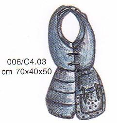 Body armor of the fifteenth century, Armours - Medieval Body Armour - Chest with front flap which are saddled with the tassets shaped and symmetrical with batticulo back.