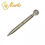 Medieval - Templars - Templars Objects - Elegant ballpoint pen pocket is enriched by the cross Templar
