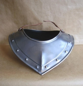 Armours - Medieval Body Armour - Medieval Gorget - Gorgets collar, a part of armor that is worn over the jacket or the collar. Entirely made of wrought iron hand,