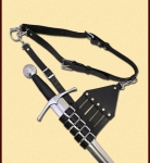 Swords and Ancient Weapons - Renaissance Swords - Belt with holder for Rapiers, Sabers and Swords
