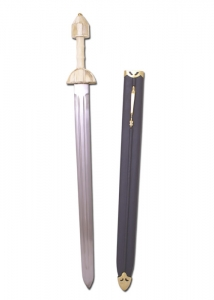 Roman Iv Sec Spatha DC, Ancient Rome - Roman swords - Roman sword of the fourth century reproduction of a discovery in Germany near Cologne. Total length 94 cm.