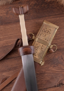 Roman Cavalry Sword, Ancient Rome - Roman swords - Supplied with the Roman cavalry sword between the first and second century AD, introduced by the Celts