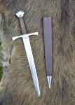 Swords and Ancient Weapons - Daggers and Sabres - Half sword or dagger used in the fifteenth century as an extra weapon by infantry soldiers, archers and halberds in particular.