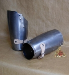 Armours - Medieval Body Armour - Forearm iron - Part of armor protection, forearm iron entirely handmade.
