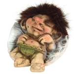 Troll  NyForm - Troll NyForm Piccoli - Troll Nyform 047 - Troll infrangibile in materiale naturale (lattex). Originale norvegese. Dimensioni: 8 cm. Originale.