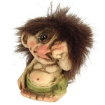Troll  NyForm - Troll NyForm Piccoli - Troll infrangibile in materiale naturale (lattex). Originale norvegese. Dimensioni: 7 cm. Originale.