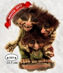 NyForm Troll - NyForm Troll (small) - Troll unbreakable natural material (lattex). Original Norwegian. Dimensions: 14,5 cm. The original.