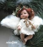 Porcelain Fairy Dolls - Porcelain Fairy - Porcelain Fairies (Small) - Characters in bisque porcelain collection Montedragone