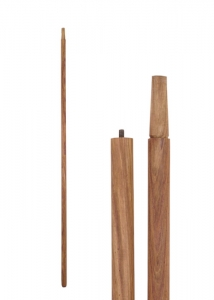 Rosewood Shaft - Wooden shaft, Medieval - Spears and Halberds - Wooden shaft made of solid rosewood, As the shaft features a screw thread in its middle, it is not suitable for battle.