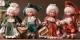 Porcelain Fairy Dolls - Porcelain Fairies Elves - Celebrities in biscuit porcelain. The price refers to a single doll.