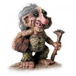 NyForm Troll - NyForm Troll (medium) - Norwegian Troll natural material, subject to international collection. Height: 16.5 cm