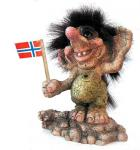 NyForm Troll - NyForm Troll (medium) - Norwegian Troll natural material, subject to international collection. Height: 13 cm