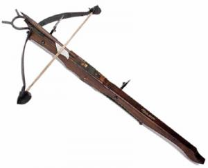 From the XV century crossbow Strap, Medieval - Arcs and Crossbows - Crossbows - Strap on typical Italian heavy crossbow from the first half of the fifteenth century