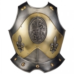 Armours - Medieval Body Armour - Armor breastplate (ornament) - Easy-to-chest armor to protect the front of the trunk, made of burnished steel.