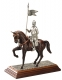 Medieval - Historical Miniatures - Miniature knights Armour - Man of arms mounted on a pedestal.