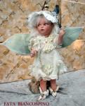 Porcelain Fairy Dolls - Porcelain Fairy - Porcelain Fairies (Small) - Fairy porcelain bisque. Height about 26 to 29 cm