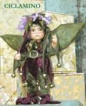 Porcelain Fairy Dolls - Porcelain Fairy - Porcelain Fairies (Small) - Fairy porcelain Height: 30 cm.