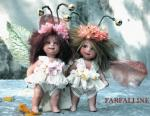 Porcelain Fairy Dolls - Porcelain Fairy - Porcelain Fairies (Small) - Fairy porcelain bisque Butterfly, Height: 14 cm
