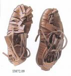 Medieval - Medieval Clothing - Leather sandals shod by the Roman legionaries certainly until the end of the second century AD