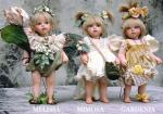 Porcelain Fairy Dolls - Porcelain Fairy - Porcelain Fairies (Small) - Porcelain figures Height 27 cm.