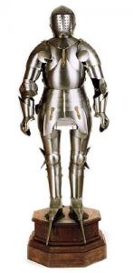 Medieval Knight Armor: Wearable Medieval Armor, Armours - Medieval Armour - Medieval Armor wearable in the French-style, is the reproduction of the 15th century original belonging to German Noble, Frederick I.