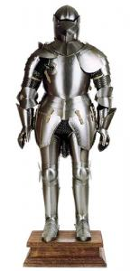 Medieval Armor (Wearable), Armours - Medieval Armour - Wearable Medieval Armor: typical italian-style man-at-arms suit of armor of the second half of the XVth century made in Lombardy, centres in the armor's manufacturing.