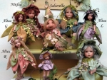 Porcelain Fairy Dolls - Porcelain Fairy - Porcelain Fairies (Small) - Fairies collectible porcelain Biscuit 21 cm.