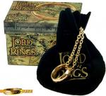 World Cinema - The Lord of the Rings - Jewellery - Gold and Silver - Anello con iscrizione elfica interna ed esterna non smaltata, tratto dal film Il Signore degli anelli.