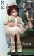 Anna, Collectible Porcelain Doll