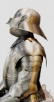 Armours - Medieval Armour - Gothic armor completely portable and functional. Gothic armor includes all parts of the armature, which are shown in the image; handmade hand in Italy.