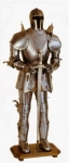 Armours - Medieval Armour - Armor Medieval Teutonic, fifteenth century. Armor consists of a hidden tile top with opening face.