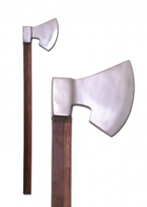 German 14th century war Axe, Medieval - Axes and Maces - Axes - Decorative replica of a medieval axe, used primarily by German mercenaries.