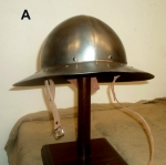 Armours - Medieval Helmets - Crossbow helmet to protect the steel head, fully wash hand wearable.