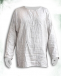 Medieval - Medieval Clothing - Medieval Fantasy Costumes - Simple crew neck shirt medieval