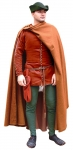 Medieval - Medieval Clothing - Medieval Costume (Man) - 1360-1410 full dress with the thick Cottardo front buttoning.