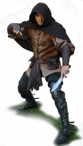 Costume Thief, Medieval - Medieval Clothing - Medieval Fantasy Costumes - The Thief dress very comfortable.