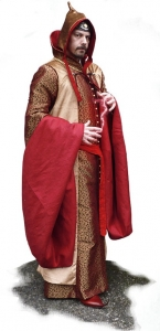 Magician Costume, Medieval - Medieval Clothing - Medieval Fantasy Costumes - Typical dress wizard fantasy tradition.