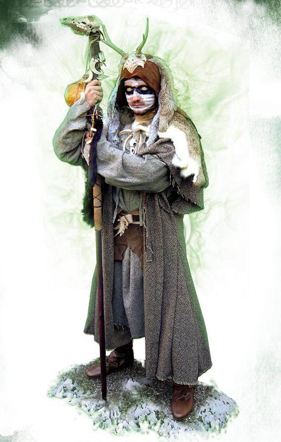 Costume Druid, Medieval Fantasy Costumes for sale - Avalon