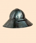 Armours - Medieval Helmets - Helmet hat iron to the German fifteenth century, used by infantry in particular during siege operations.