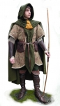 Medieval - Medieval Clothing - Medieval Fantasy Costumes - Elven warrior costume.