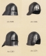Armours - Medieval Helmets - Gothic Sallet Helmet, Sallet to  German XV Century, fan with rotating bands, with the top of the projecting eaves of the sight and very pronounced.