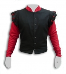 Medieval - Medieval Clothing - Medieval Fantasy Costumes - Bard jacket, front closure, decoration and style cuts century.