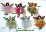 Porcelain Fairy Dolls - Porcelain Fairy - Porcelain Fairies (Small) - Fairy months be hung