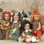 Porcelain Fairy Dolls - Porcelain Fairy - Porcelain Fairies (Small) - Fairy porcelain bisque Height: 15 cm.
