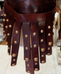 Ancient Rome - Roman Armours - Leather strips (pteruges) from fixed along the bottom edge to protect the legs