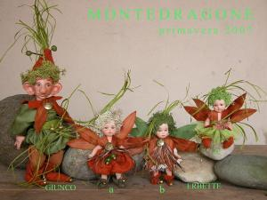 Elf doll: Rush, Porcelain Fairy Dolls - Porcelain Fairies Elves - Doll elf: Rush, bisque porcelain personage. Height: 23/27 cm, The price refers to a single doll.