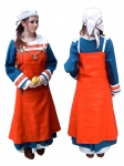 Medieval - Medieval Clothing - Medieval Women Costumes - Period, sources Haithabu / Hedeby. Also available with hand stitching. constructed in 4 pieces.