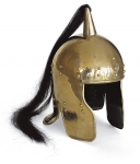 Ancient Rome - Roman Helmets - Elmo by Auriga, conductor wagon antiquity.